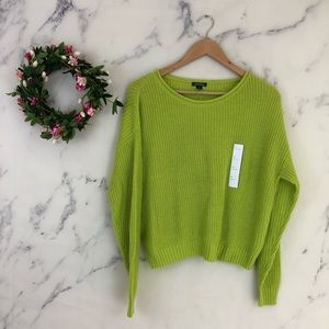 Wild Fable Bright Green Sweater